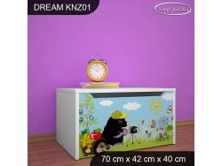 KUFER NA ZABAWKI DREAM KNZ-01 DM18