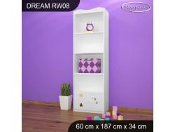 REGAŁ WYSOKI DREAM RW08 DM18