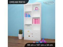 REGAŁ WYSOKI DREAM RW10 DM18