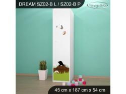 SZAFA DREAM SZ02-B DM18