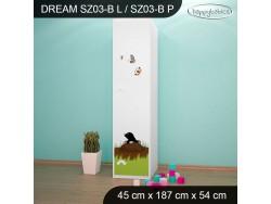 SZAFA DREAM SZ03-B DM18
