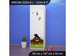 SZAFA DREAM SZ04-B DM18