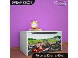 KUFER NA ZABAWKI DREAM KNZ-01 DM19