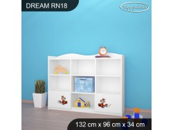 REGAŁ NISKI DREAM-RN18 DM19