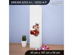 SZAFA DREAM SZ02-A DM19
