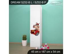 SZAFA DREAM SZ02-B DM19