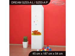SZAFA DREAM SZ03-A DM20
