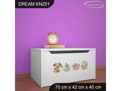 KUFER NA ZABAWKI DREAM KNZ-01 DM21