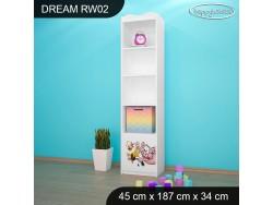 REGAŁ WYSOKI DREAM RW02 DM21