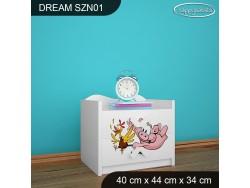 SZAFKA NISKA DREAM SZN01 DM21