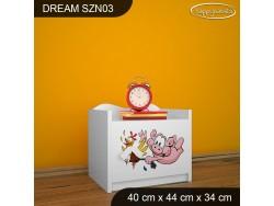 SZAFKA NISKA DREAM SZN03 DM21