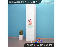 SZAFA DREAM SZ01-A DM22