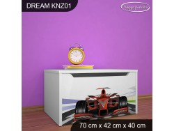 KUFER NA ZABAWKI DREAM KNZ-01 DM23