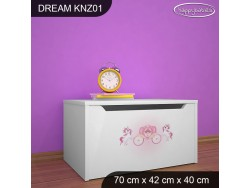 KUFER NA ZABAWKI DREAM KNZ-01 DM24