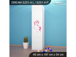 SZAFA DREAM SZ01-A DM24