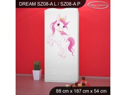 SZAFA DREAM SZ08-A DM24