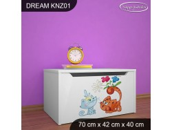 KUFER NA ZABAWKI DREAM KNZ-01 DM25