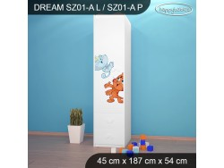 SZAFA DREAM SZ01-A DM25