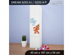 SZAFA DREAM SZ02-A DM25