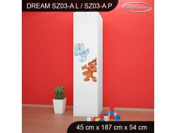 SZAFA DREAM SZ03-A DM25