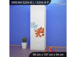 SZAFA DREAM SZ04-B DM25