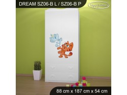 SZAFA DREAM SZ06-B DM25