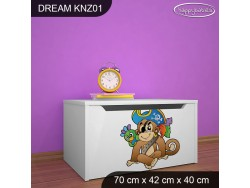 KUFER NA ZABAWKI DREAM KNZ-01 DM26