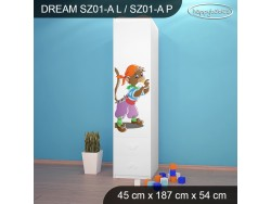 SZAFA DREAM SZ01-A DM26