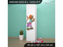 SZAFA DREAM SZ02-B DM26