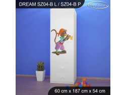 SZAFA DREAM SZ04-B DM26
