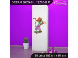 SZAFA DREAM SZ05-B DM26