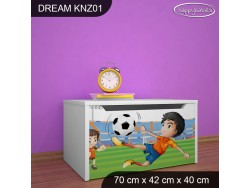 KUFER NA ZABAWKI DREAM KNZ-01 DM27