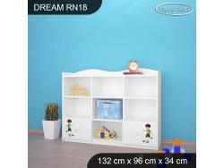 REGAŁ NISKI DREAM-RN18 DM27