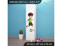 SZAFA DREAM SZ01-A DM27