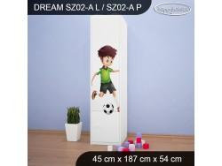 SZAFA DREAM SZ02-A DM27