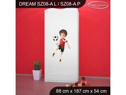 SZAFA DREAM SZ08-A DM27