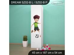 SZAFA DREAM SZ02-B DM27