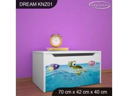 KUFER NA ZABAWKI DREAM KNZ-01 DM28