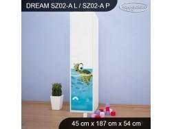 SZAFA DREAM SZ02-A DM28
