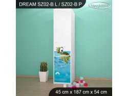 SZAFA DREAM SZ02-B DM28