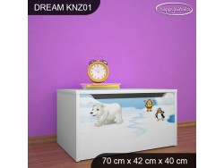 KUFER NA ZABAWKI DREAM KNZ-01 DM31
