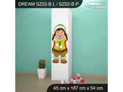 SZAFA DREAM SZ02-B DM31