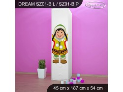 SZAFA DREAM SZ01-B DM31