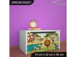 KUFER NA ZABAWKI DREAM KNZ-01 DM33