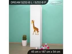 SZAFA DREAM SZ02-B DM33
