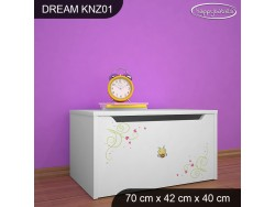 KUFER NA ZABAWKI DREAM KNZ-01 DM34