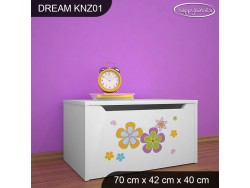 KUFER NA ZABAWKI DREAM KNZ-01 DM35