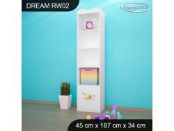 REGAŁ WYSOKI DREAM RW02 DM35