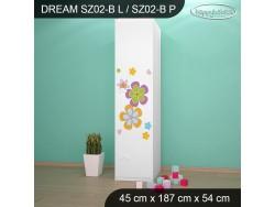 SZAFA DREAM SZ02-B DM35
