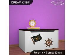 KUFER NA ZABAWKI DREAM KNZ-01 DM11